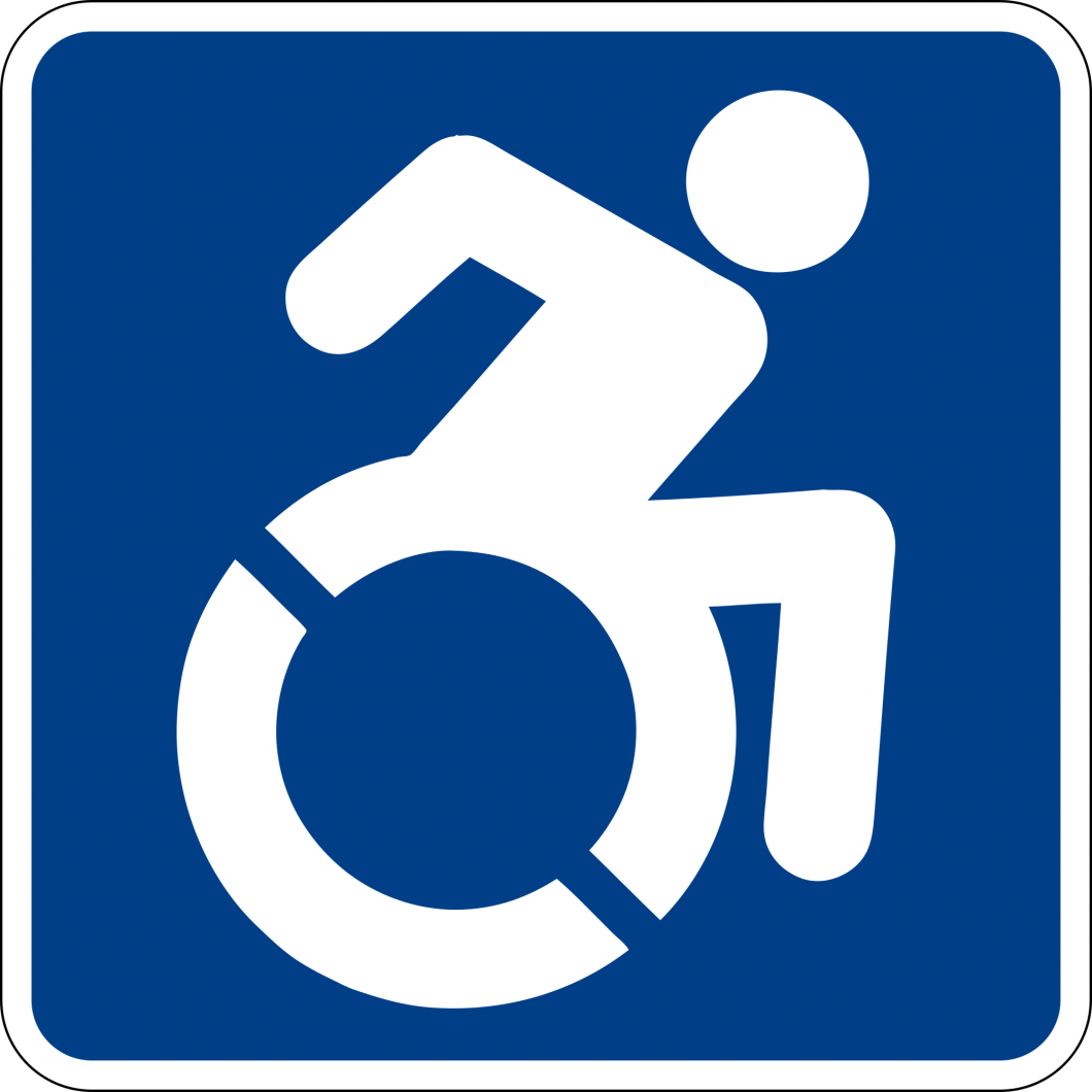 Disability Sign (Well chair)